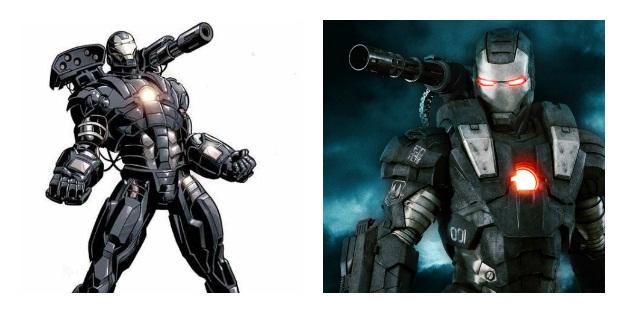 War Machine Armor Costume