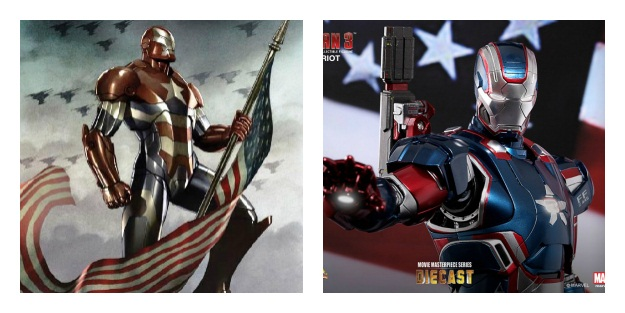Iron Patriot Armor Costume