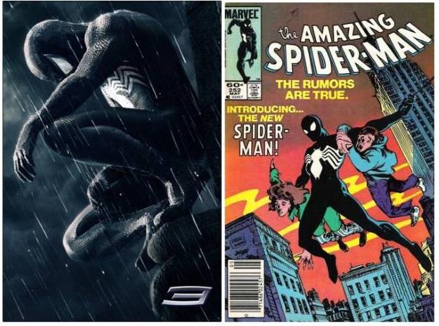 Black Suit Spiderman Costume