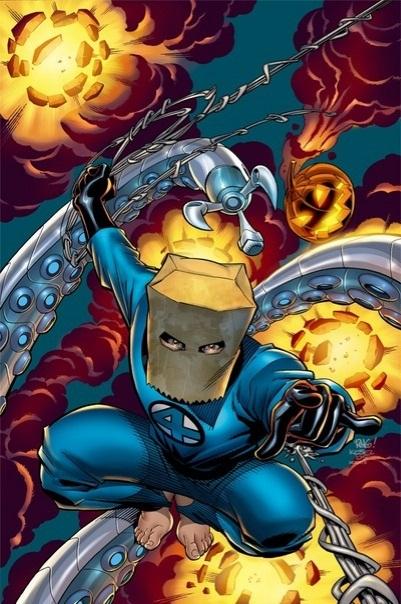 The Bombstastic Bag Man Costume