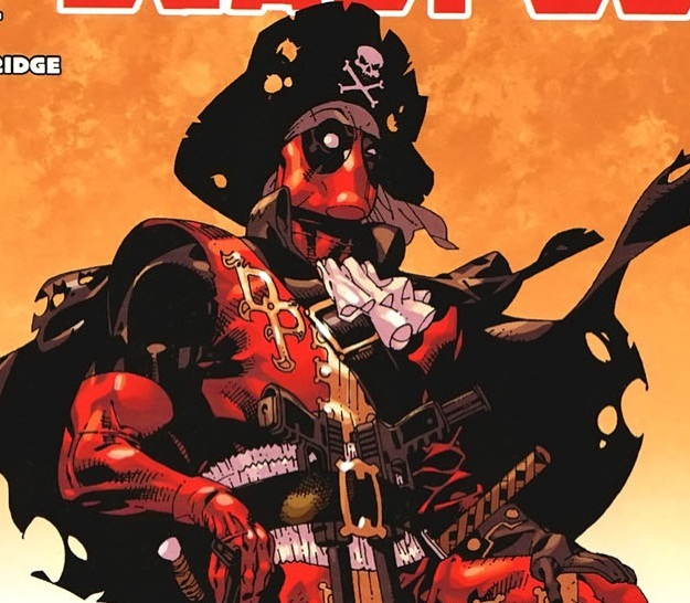 Deadpool Pirate Piratepool Costume