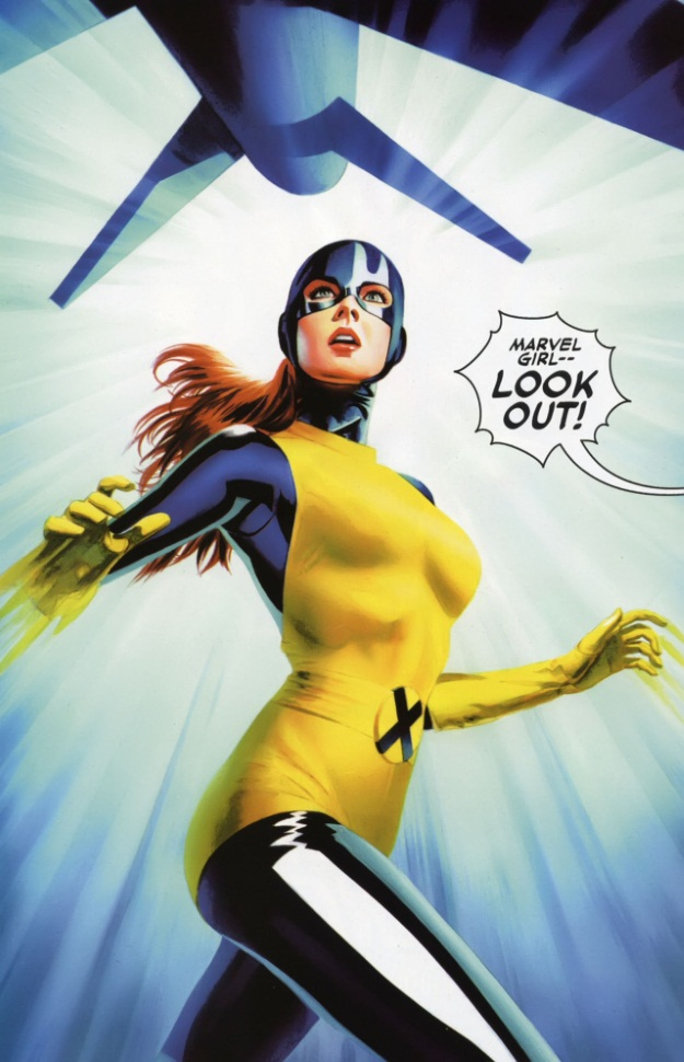 Jean Grey Original X-Men Costume