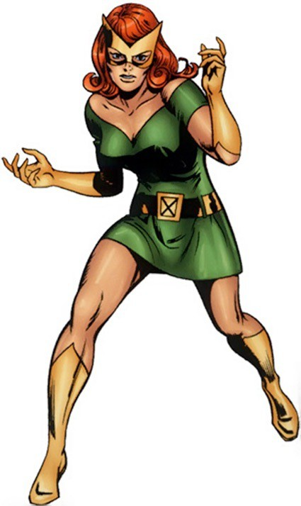 Jean Grey Marvel Girl Costume