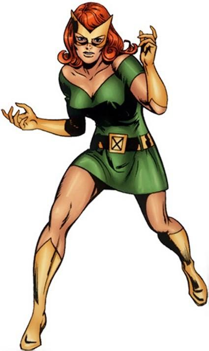 Jean Grey Marvel Girl Costume