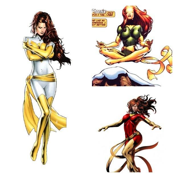 Jean Grey Phoenix Costumes