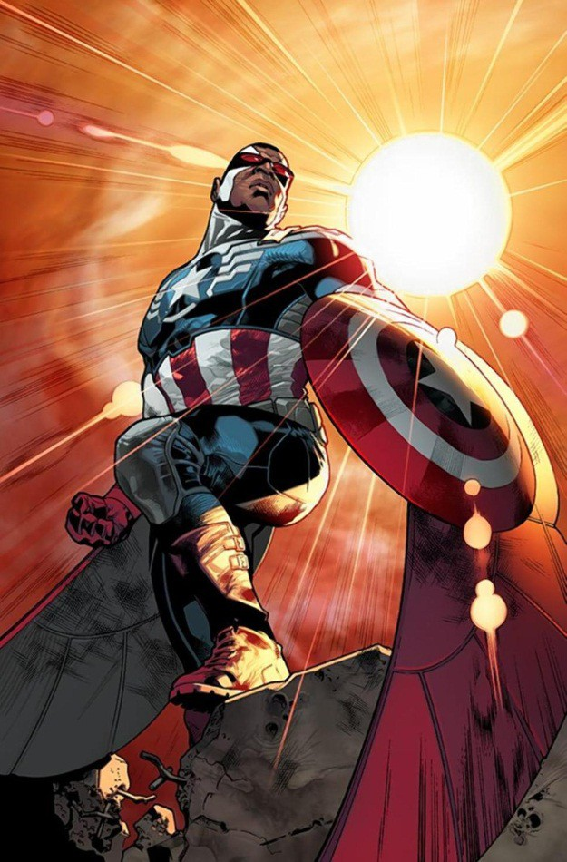 All new Captain America Costume