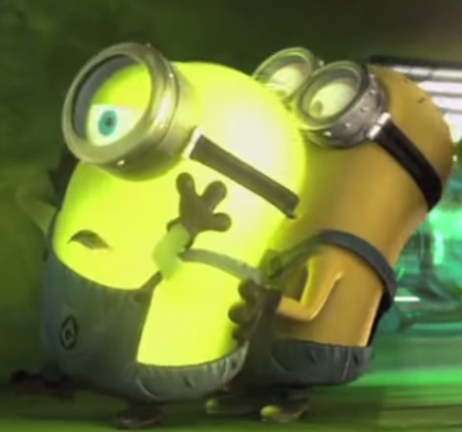 Glow in the Dark Minion