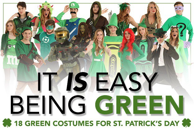 Green Costumes