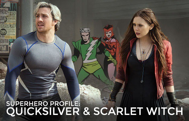 Avengers Age of Ultron Scarlet Witch and Quicksilver