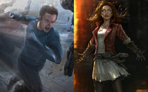 Scarlet Witch And Quicksilver Avengers 2