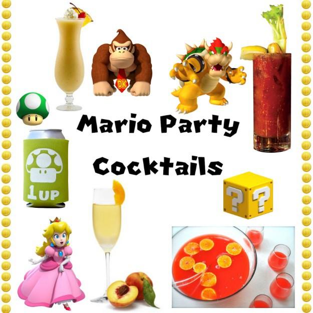 Mario Party Cocktail Ideas
