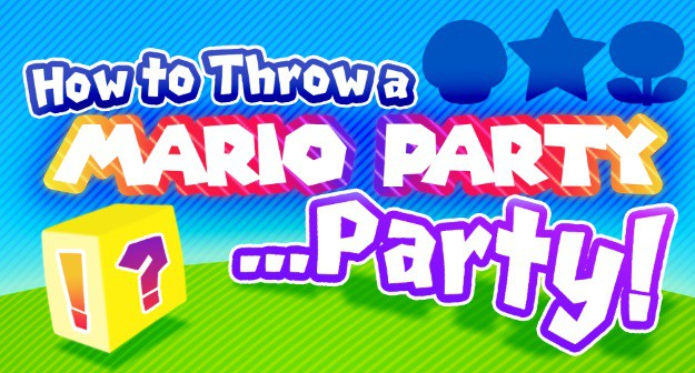 How to throw a Mario Party Party