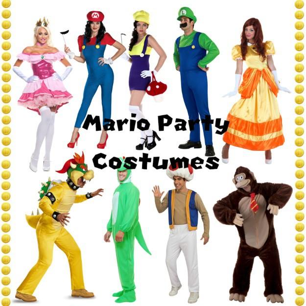 Mario Party Adult Costume Ideas