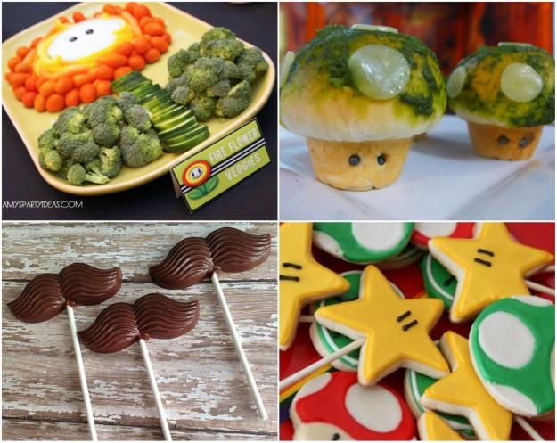 Mario Party Food Ideas