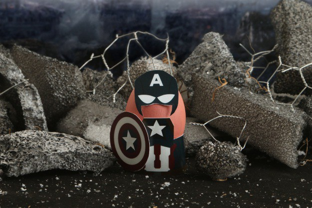 Captain America Easter Egg Costume