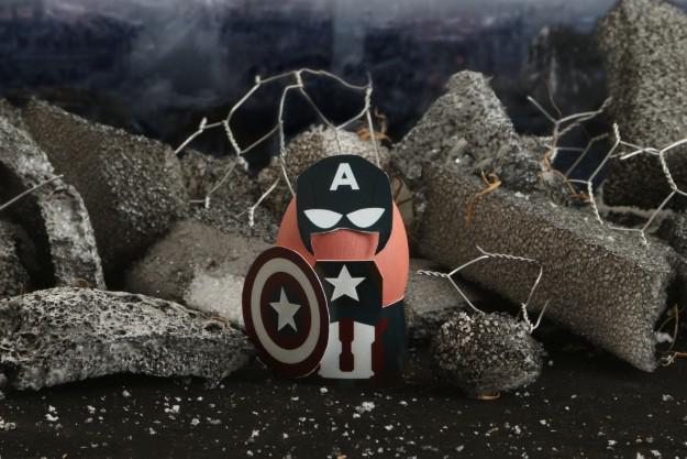 Captain America Easter Egg Costume
