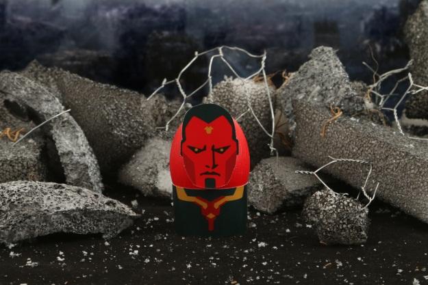 The Avengers Vision Easter Egg