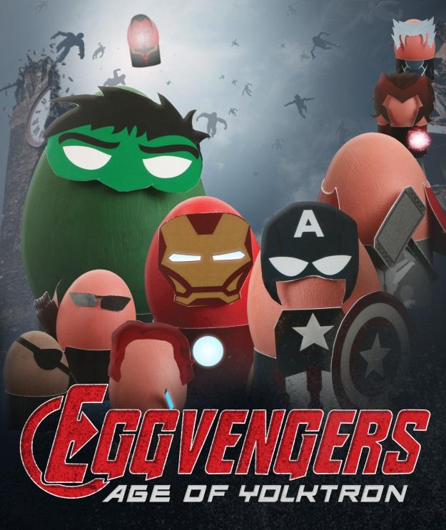 Avengers Age of Ultron Easter Eggs