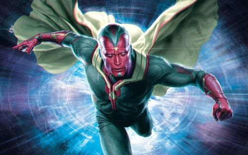 Avengers Age of Ultron Vision Age of Ultron Promotional