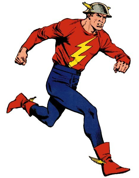 Jay Garrick Flash Costume