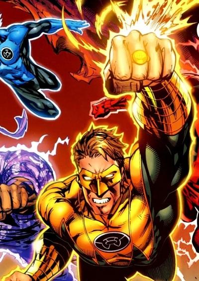 Hal Jordan Green Lantern Sinestro Corp