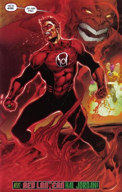 Hal Jordan Red Lantern Costume