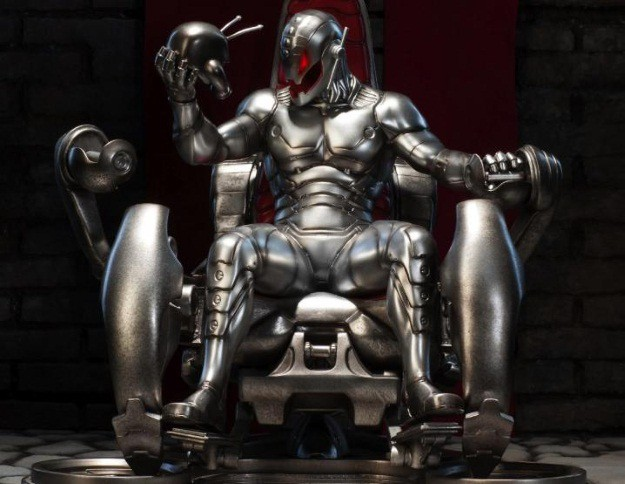 Ultron Throne Avengers Age of Ultron