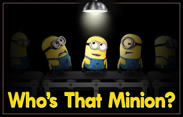 Who's That Minion Header