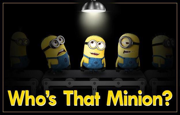 Who's That Minion Header