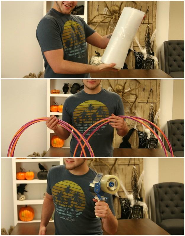 How to make a banana bunker costume