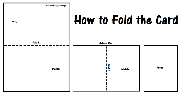 How to fold your card