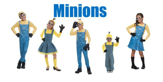 Minon Kids Costumes