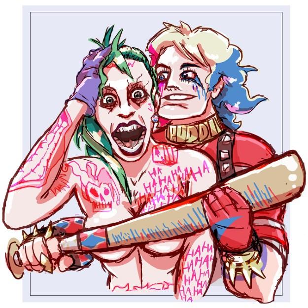 Gender Swap Joker Harley Quinn