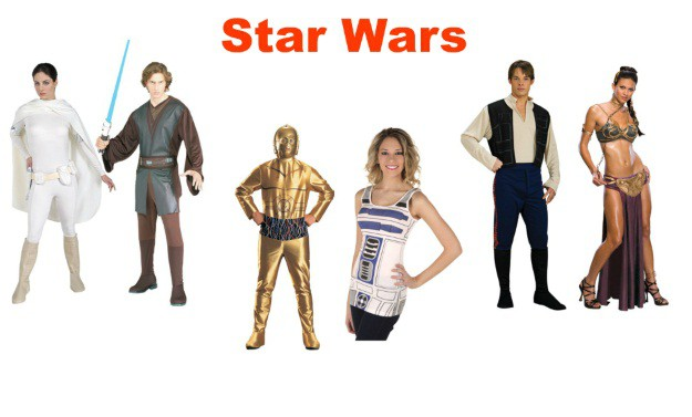 Star Wars Couples Costumes