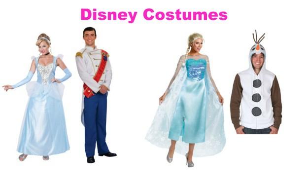 Disney Couples Costumes