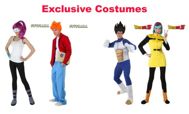 Exclusive Couples Costumes