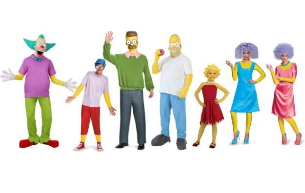 simpsons costumesjpg - Simpson Halloween Costume