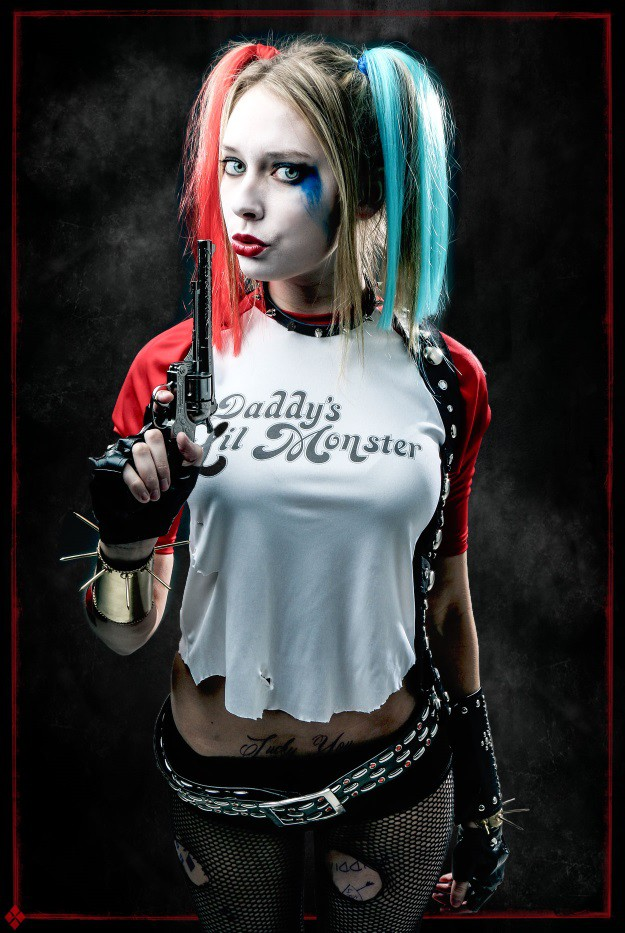 Diy harley quinn suicide squad cosplay and makeup tutorial how to look like harley quinn from suicide squad solutioingenieria Image collections