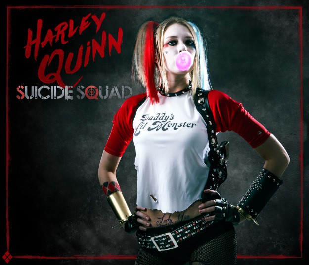 0b1473496507 DIY Harley Quinn Suicide Squad  Cosplay and Makeup Tutorial - Halloween  Costumes Blog