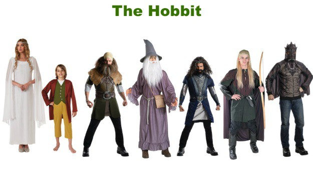 The Hobbit Group Halloween Costumes