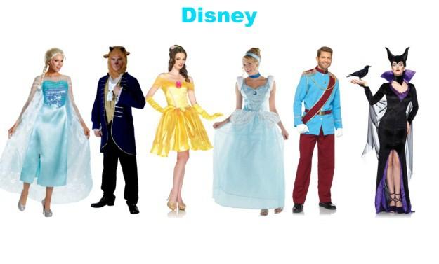 Disney Group Halloween Costumes