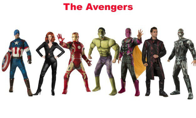 The Avengers Group Halloween Costumes