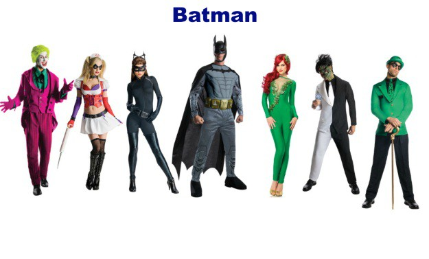 Batman Group Halloween Costumes