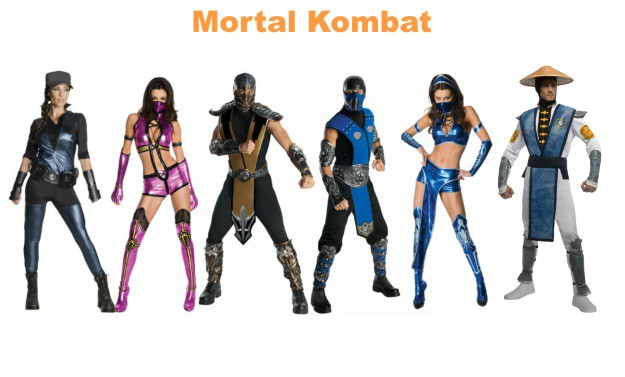 mortal kombat group halloween costumes