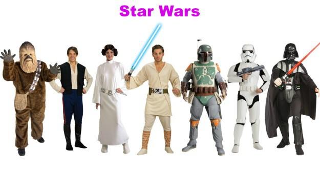 Star Wars Group Halloween Costumes