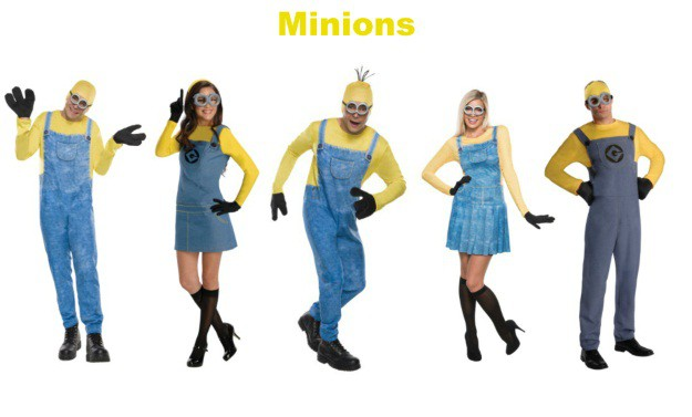 Minions Group Halloween Costumes