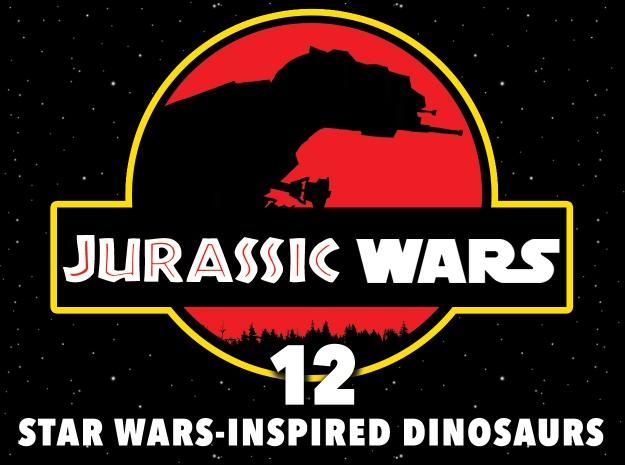 Jurassic Wars Star Wars Inspired Dinosaurs