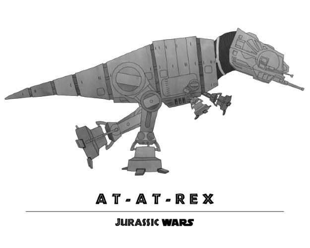 Jurassic Wars AT-AT-Rex