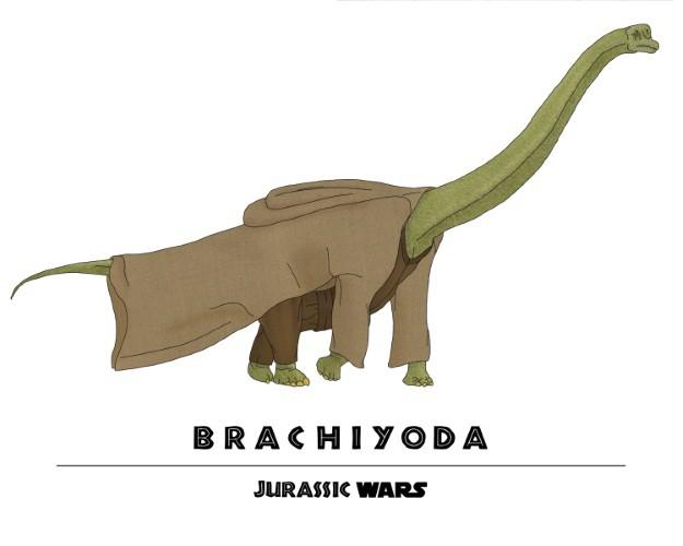 Jurassic Wars Brachiyoda