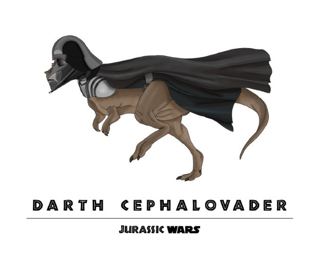 Jurassic Wars  Darth Cephalovader